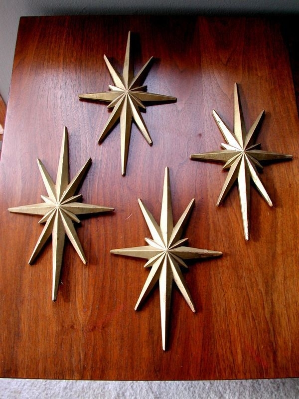 Mid Century Modern Atomic Era Starburst Wall Art (View 6 of 10)
