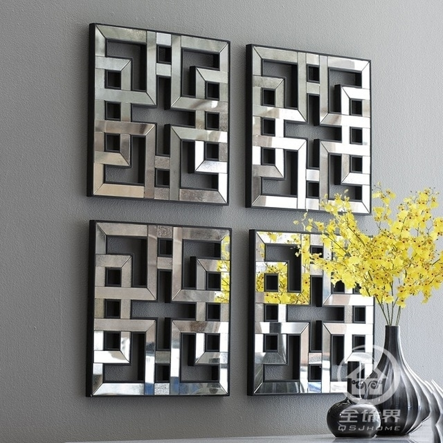 Featured Image of Mirrored Wall Art