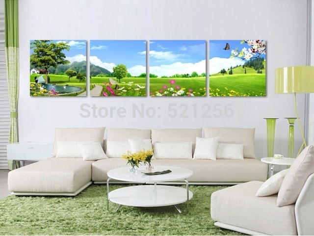 Modern Wall Art Home Decoration Printed Oil Painting Pictures No Within Golf Canvas Wall Art (Image 9 of 10)