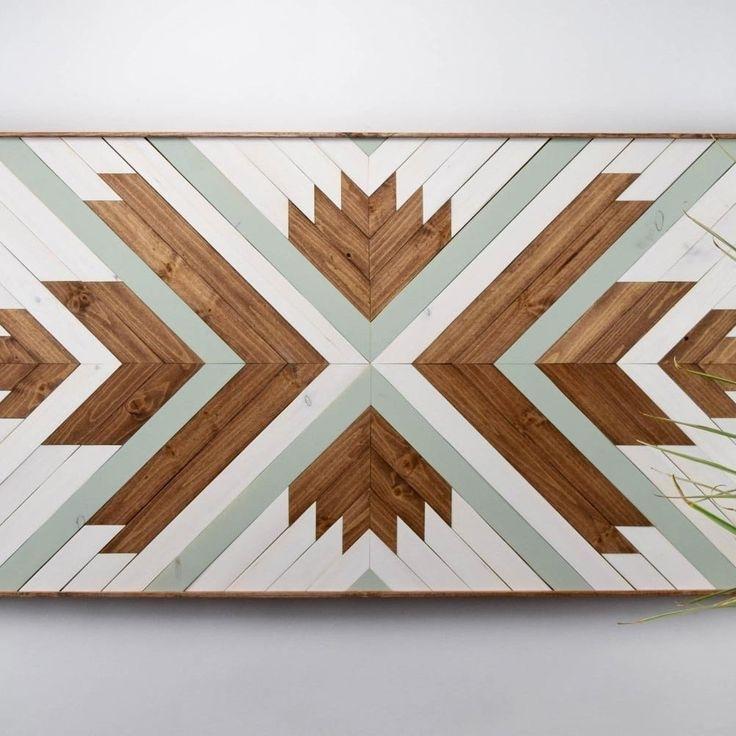 Modern Wooden Wall Art | Shopify Merchant Community Board Inside Wooden Wall Art (Image 5 of 10)
