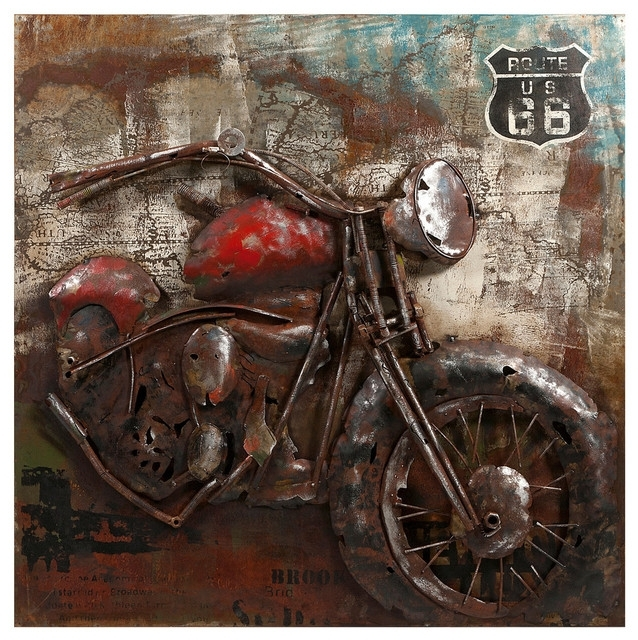 Featured Image of Motorcycle Wall Art