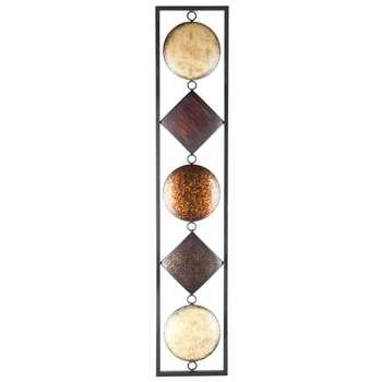 Multi Color Vertical Metal Wall Decor Hobby Lobby, Vertical Metal Inside Vertical Metal Wall Art (Image 3 of 10)