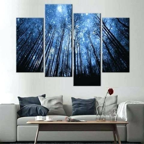Multiple Piece Canvas Wall Art Multiple Canvas Wall Art Attractive Intended For Multi Panel Wall Art (Image 7 of 10)