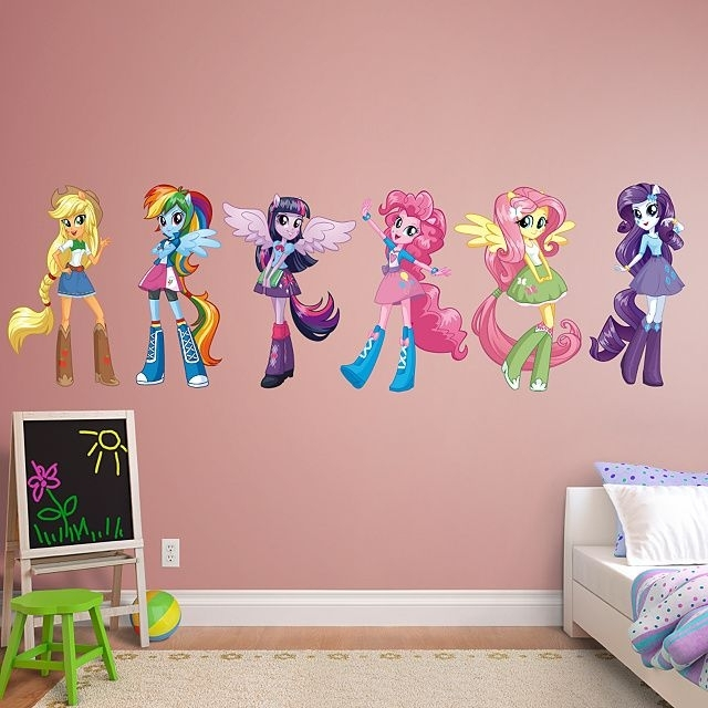 My Little Pony Blind Bag Display Case! | Anja Ideas | Pinterest Throughout My Little Pony Wall Art (Image 3 of 10)