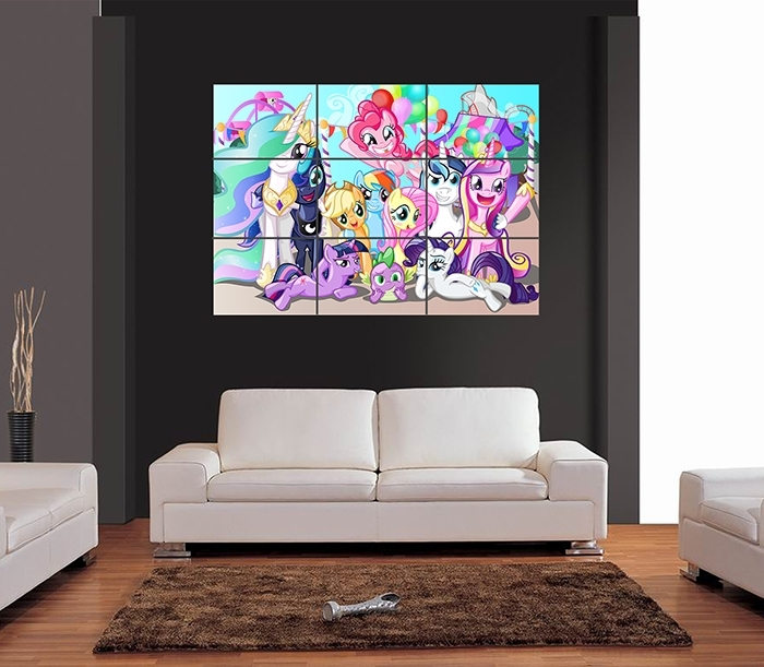 My Little Pony Giant Wall Art Print Picture Poster | Ebay With Regard To My Little Pony Wall Art (Image 4 of 10)