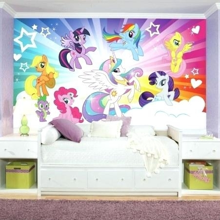 My Little Pony Wall Decals My Little Pony Wall Art My Little Pony Throughout My Little Pony Wall Art (Image 6 of 10)