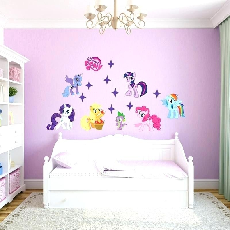 My Little Pony Wall Stickers My Little Pony Bedroom Ideas My Little Throughout My Little Pony Wall Art (Image 7 of 10)