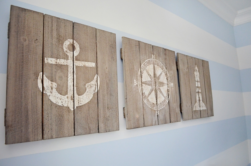 Nautical Wall D Cor Anchor Com With Regard To Art Prepare 17 With Regard To Nautical Wall Art (Photo 5 of 10)