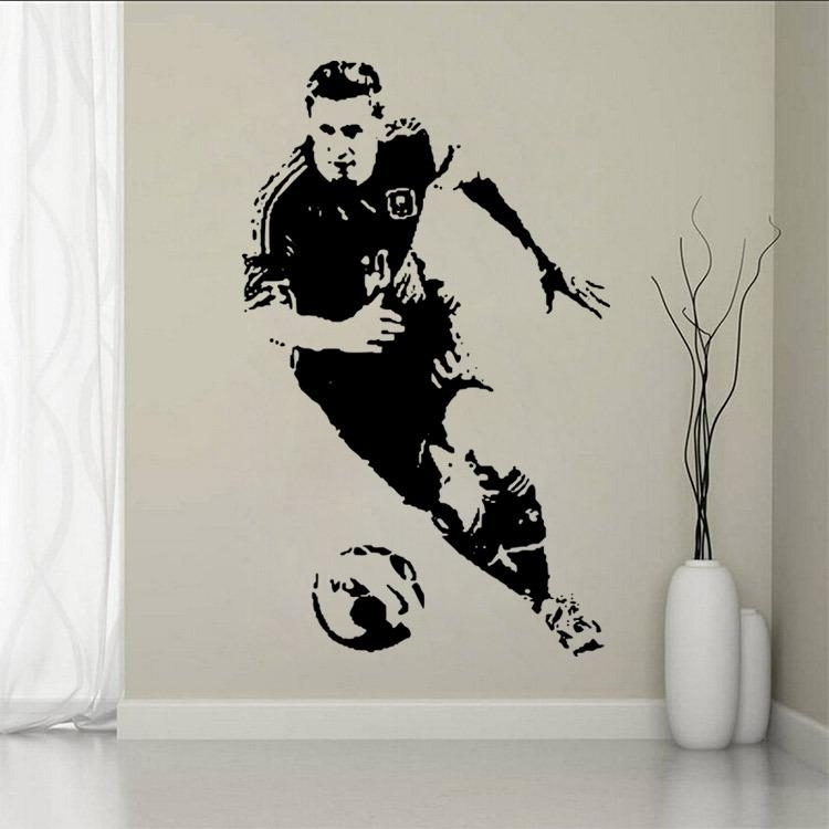 New 2016 Sports Footballer Of The Year Lionel Messi Shoot The Soccer Intended For Soccer Wall Art (Image 5 of 10)