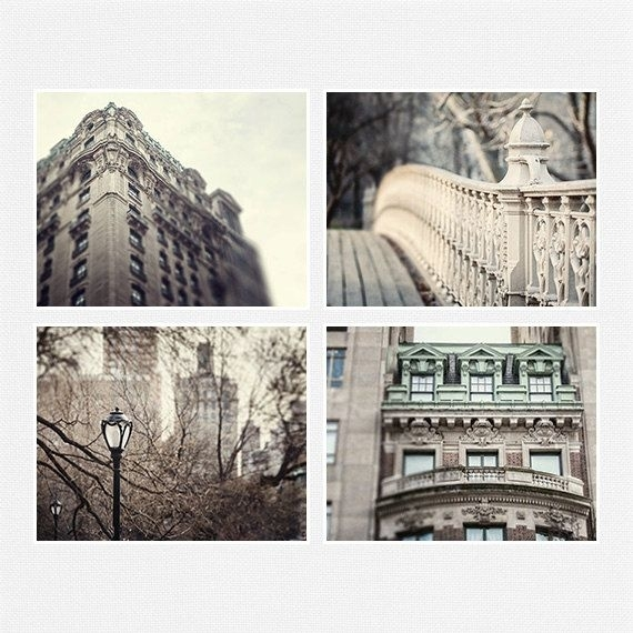 New York City Prints Or Canvas Set, New York City Wall Art, Nyc Inside Nyc Wall Art (Image 2 of 10)