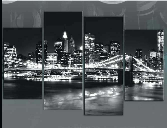 New York City Skyline Wall Art Skyline Canvas Glamorous New Canvas Inside New York Canvas Wall Art (Image 5 of 10)