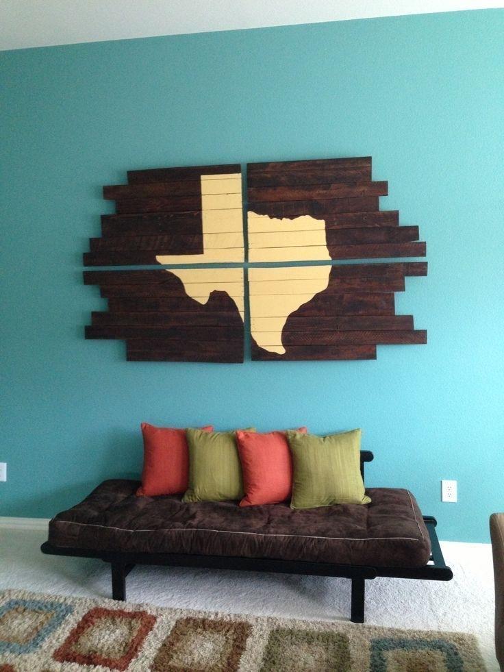 On Décore Les Murs Avec Des Palettes ! | Pinterest | Diy Pallet In Texas Wall Art (Image 4 of 10)