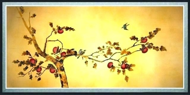 Oriental Wall Decor Lotus Wall Decals – Forjadosyhierros (View 4 of 10)