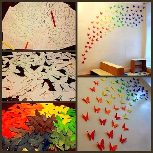 Origami Wall Art Paper Wall Art Projects You Can Do In Your Free Throughout Paper Wall Art (Image 7 of 10)