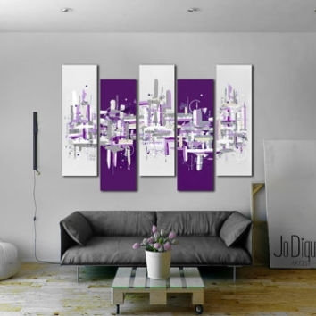 Original Abstract Painting (View 10 of 10)
