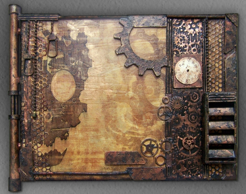 Featured Image of Steampunk Wall Art