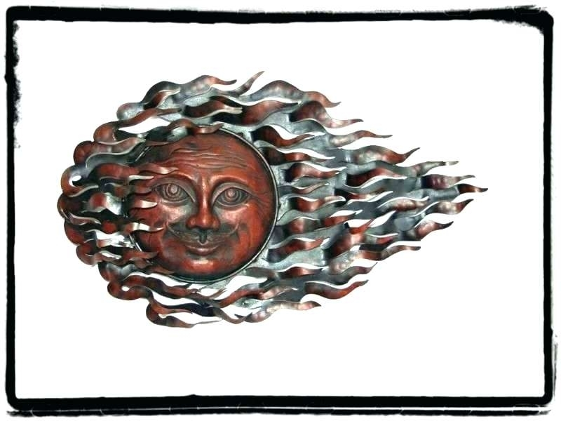Outdoor Metal Sun Wall Art Large Metal Sun Wall Art Large Metal Sun For Outdoor Sun Wall Art (Image 5 of 10)