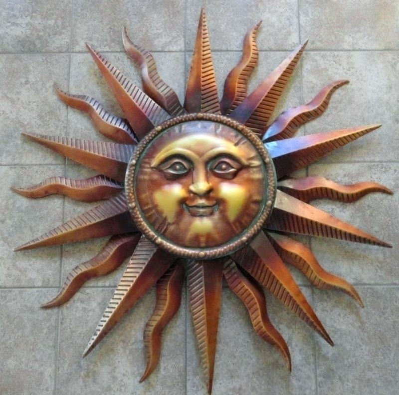 Outdoor Metal Sun Wall Art Outdoor Metal Sun Wall Art Sun Wall Art Intended For Outdoor Sun Wall Art (Image 7 of 10)