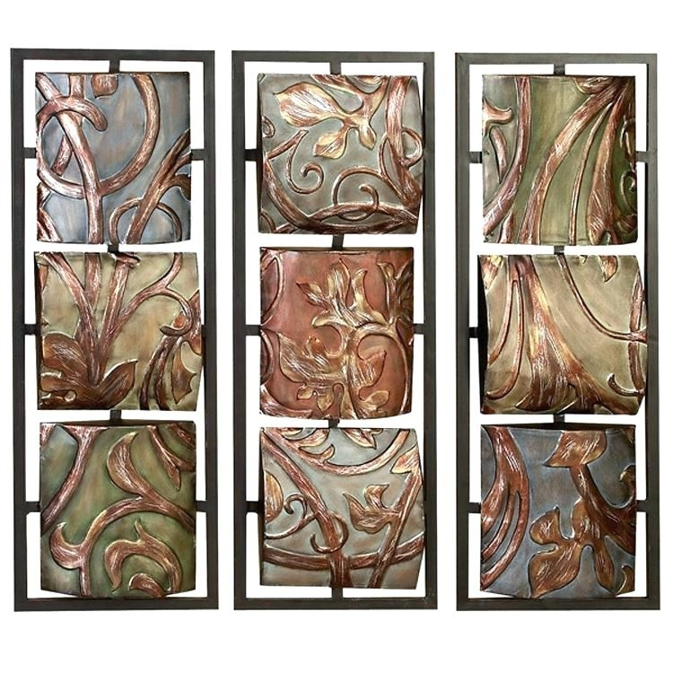 Outdoor Wall Art Metal Exterior Wall Art Metal Stainless Steel Wall Regarding Vertical Metal Wall Art (Image 4 of 10)