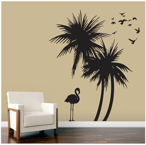 Palm Tree Wall Art Pertaining To Palm Tree Wall Art (Photo 8 of 10)