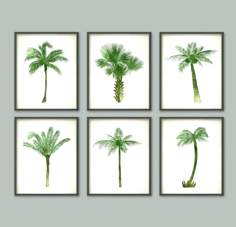 Palm Tree Wall Decor – Rebolt (Image 6 of 10)