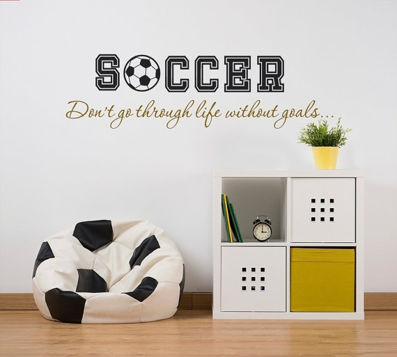 Peachy Design Ideas Soccer Wall Art Interior Designing The Sport Regarding Soccer Wall Art (Image 6 of 10)