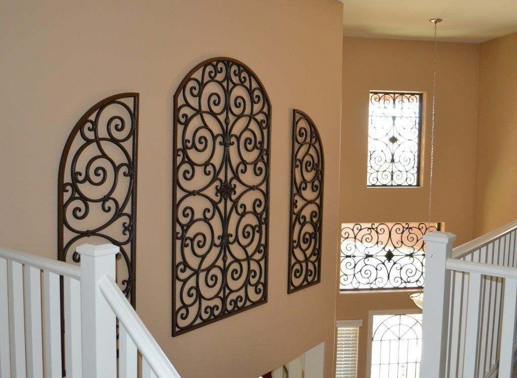 Perfect Large Wrought Iron Wall Decor | Jeffsbakery Basement & Mattress With Regard To Wrought Iron Wall Art (Image 9 of 10)