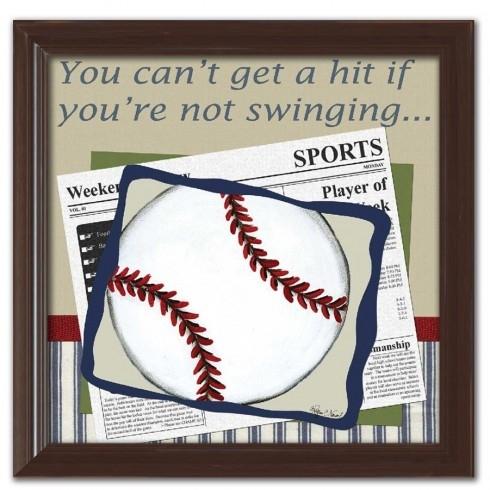 Personalized Baseball Wall Art Pertaining To Baseball Wall Art (Image 8 of 10)