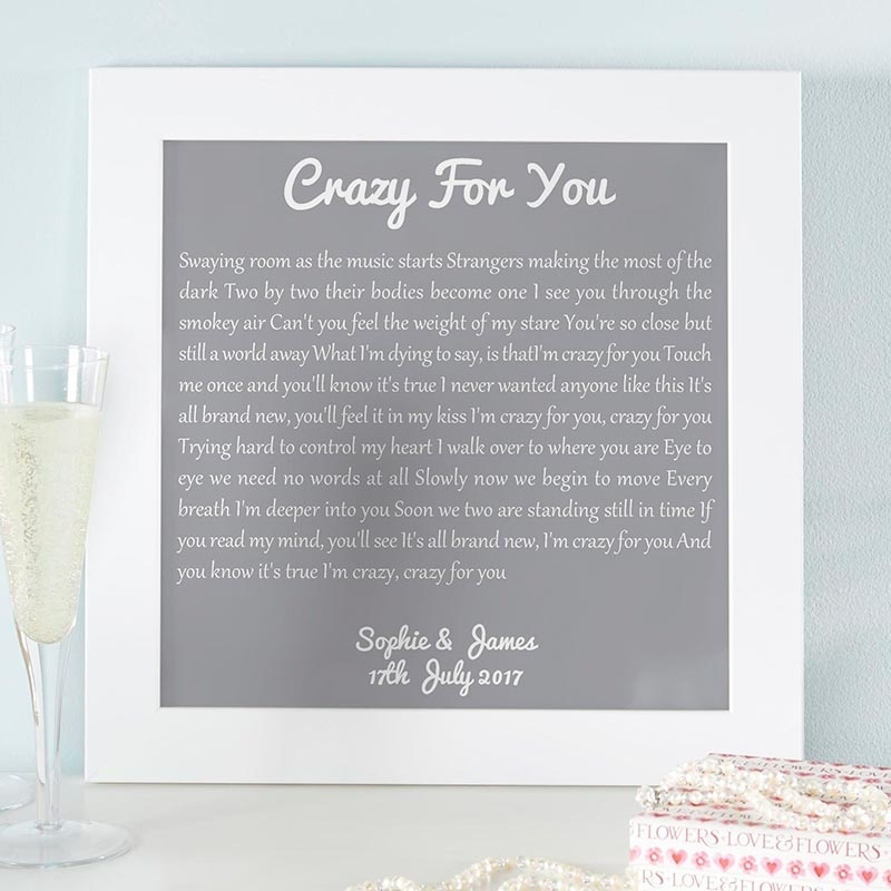 Personalized Wall Art Quote Prints & Canvases | Chatterbox Walls Intended For Personalized Wall Art (Image 8 of 10)