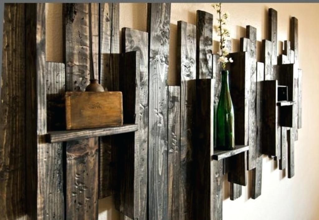 Picture 10 Of 11 Rustic Wall Art Wood And Metal Youtube Inside Decor For Large Rustic Wall Art (Image 8 of 10)