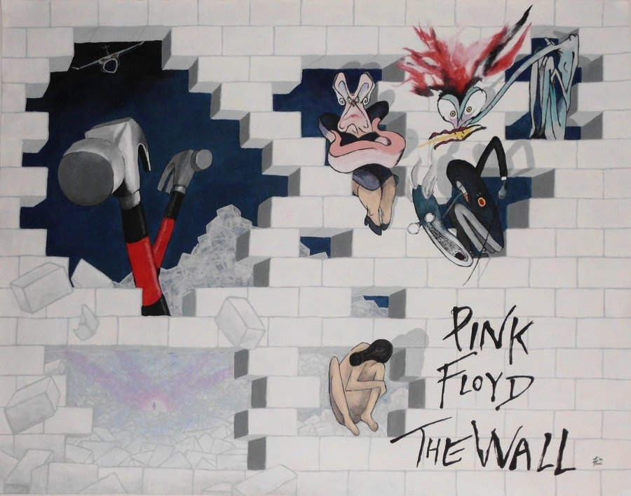 Pink Floyd  The Wall  Completeuberkid64 On Deviantart Throughout Pink Floyd The Wall Art (Image 9 of 10)