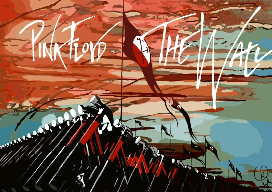 Pink Floyd – The Wallblackcyanide Fr On Deviantart With Pink Floyd The Wall Art (Photo 2 of 10)