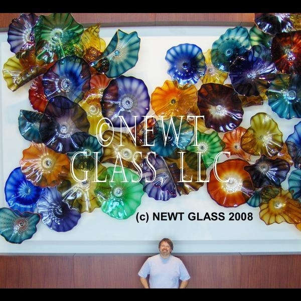 Pretentious Glass Plate Wall Art Minimalist Blown A Ideal Decor Within Glass Plate Wall Art (Image 9 of 10)