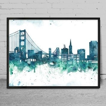 Prissy San Francisco Wall Art | Bargainfindsonebay Within San Francisco Wall Art (Image 6 of 10)