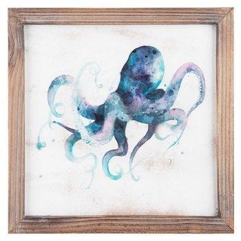 Purple & Blue Octopus Wall Art | Decor | Pinterest | Octopus Wall Regarding Octopus Wall Art (Image 7 of 10)