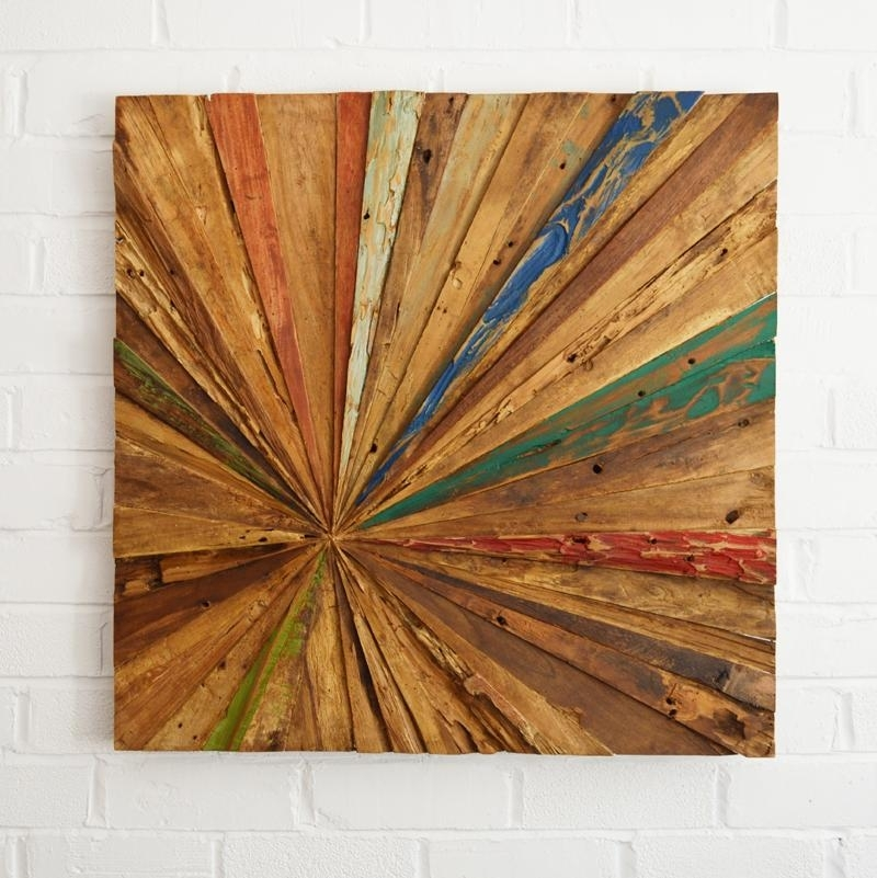 Reclaimed Wood Wall Art – Coastalhome.co (Image 5 of 10)