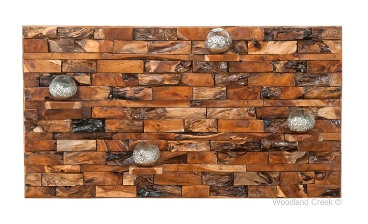 Reclaimed Wood Wall Art With Shelves, Ledgewood Wall Art For Reclaimed Wood Wall Art (Image 4 of 10)