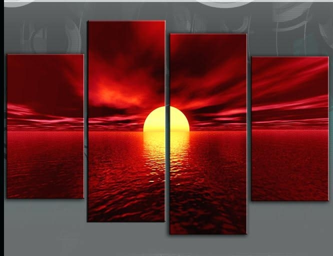 Red Wall Art Decor – Tdsband (Image 10 of 10)