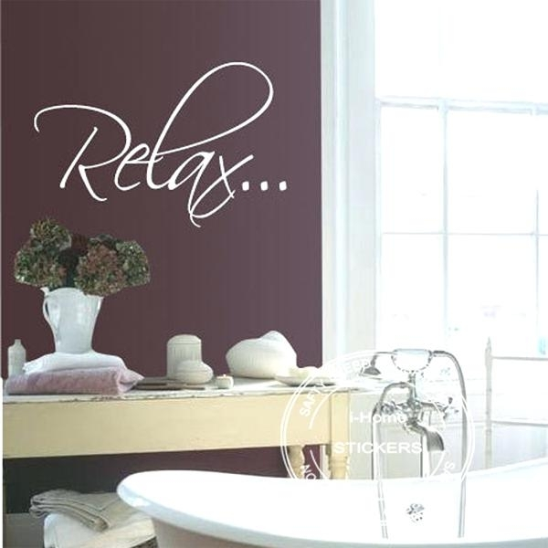 Relax Wall Art Relax Wall Decor – 7Thhouse With Regard To Relax Wall Art (Image 9 of 10)