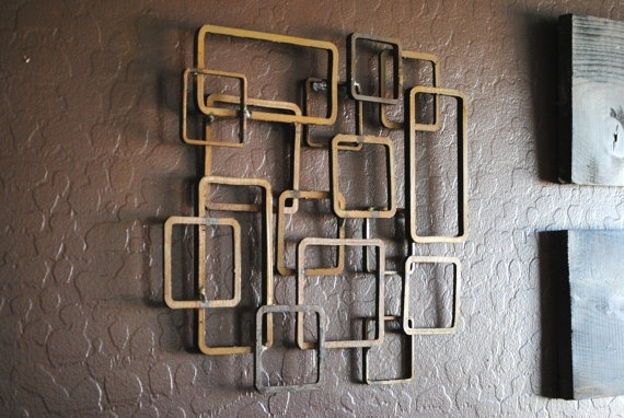 Featured Image of Modern Metal Wall Art