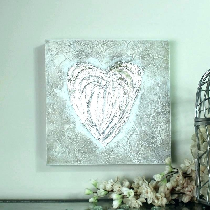 Rose Gold Wall Art Wall Art Silver Silver Canvas Art Metallic Silver In Silver Wall Art (View 7 of 10)