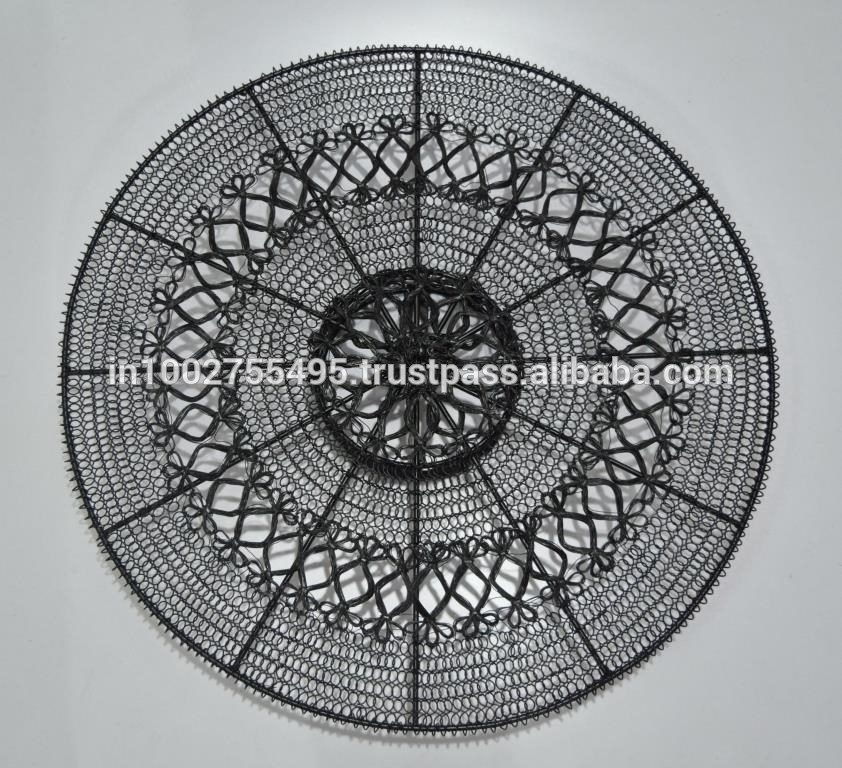 Round Wire Metal Wall Art In Antique Finish – Buy Antique Metal Wall Regarding Wire Wall Art (Image 8 of 10)