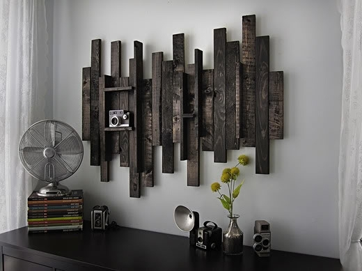 Rustic Metal W Ideal Rustic Metal Wall Art – Wall Decoration Ideas Within Wood And Metal Wall Art (Image 3 of 10)