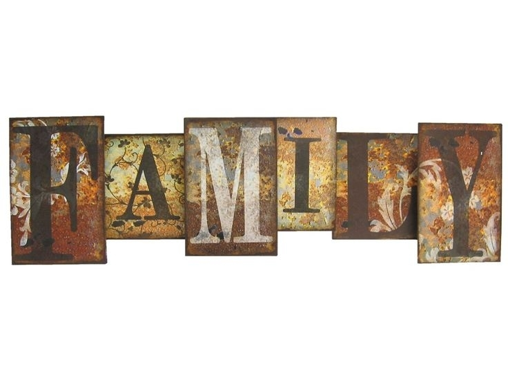 Rustic Metal W Inspirational Rustic Metal Wall Art – Wall Decoration Throughout Rustic Metal Wall Art (View 9 of 10)