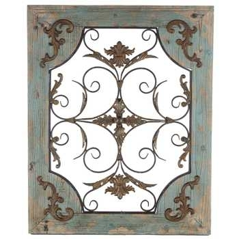 Rustic Turquoise Wood & Metal Wall Decor | Hobby Lobby | 130948 In Hobby Lobby Metal Wall Art (View 9 of 10)