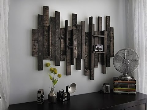 Rustic Wall Art # Rustic Wood And Metal Wall Art – Youtube Regarding Rustic Metal Wall Art (View 2 of 10)