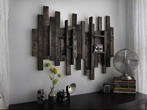 Rustic Wall Art # Rustic Wood And Metal Wall Art – Youtube Regarding Rustic Metal Wall Art (Image 8 of 10)