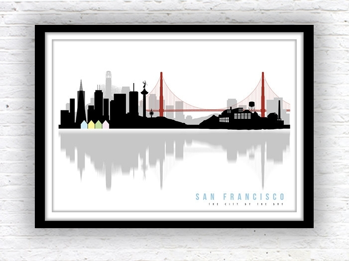 San Francisco Art San Best San Francisco Wall Art – Wall Decoration In San Francisco Wall Art (Image 7 of 10)