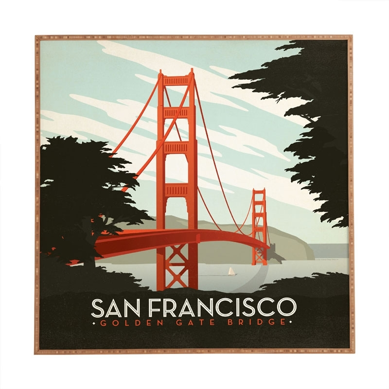 San Francisco Wall Art – Fallow With San Francisco Wall Art (Image 8 of 10)