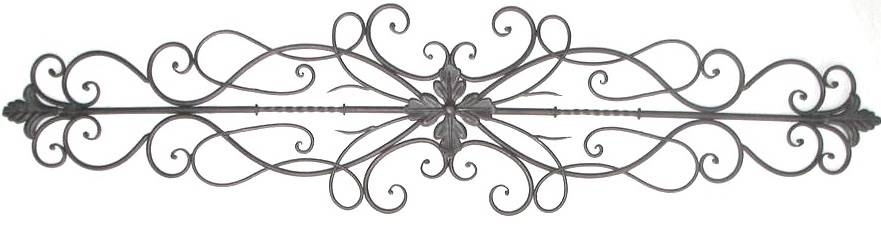 Scroll Iron Wall Art Entrancing Iron Scroll Wall Art Scroll Iron For Metal Scroll Wall Art (Image 7 of 10)